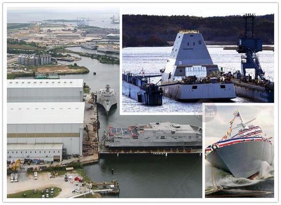 美军造舰速度也不算慢