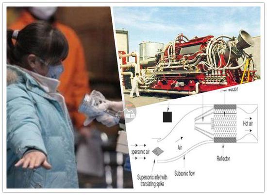 核动力发动机 本质就是压缩-加热空气-喷出去 辐射量自然可想而知了