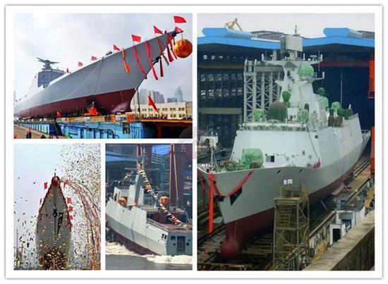2018 中国海军继续加油!