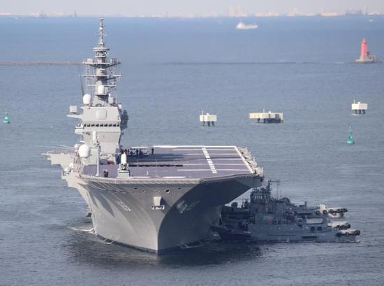 日本准航母今年将再赴南海 已与澳签新协议对抗中国