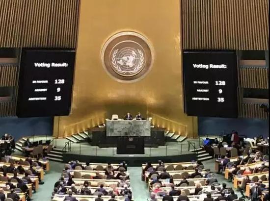 美在联合国遭打脸后开始报复 大幅削减在联合国经费