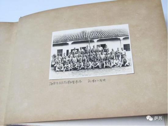 ▲ 日军驻扎在潭牛的分遣队,只留下这张照片,便在美德之战中被琼纵消灭