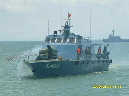 ▲空军海战队很早就装备侦察艇