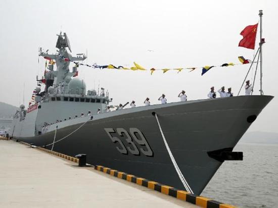中国054A护卫舰造价曝光仅14亿元 为美欧同类舰1/4
