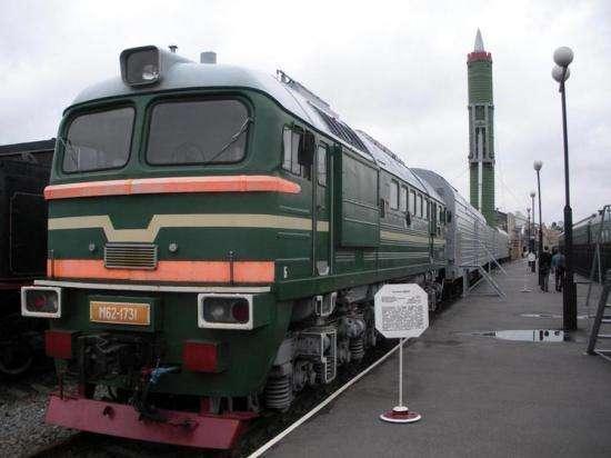 俄式导弹列车