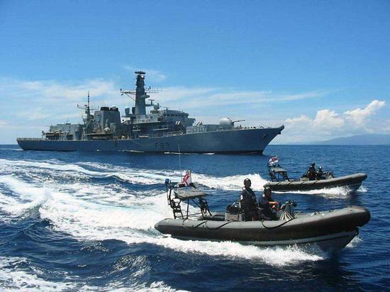 英国海军仅有2艘军舰能出海 叫嚣闯南海只是面子工程