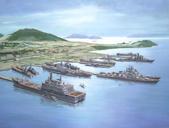 美军航母时隔40年后首访越南 为何却不进港停靠