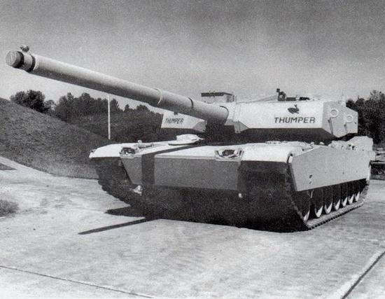 测试140口径主炮的M1