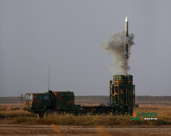 红旗-16中程防空导弹已有多国表示购买意向。