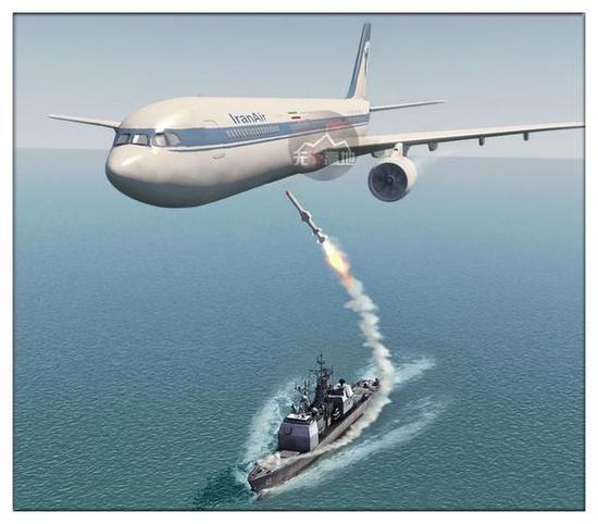 美军当年就曾击落过民航机-误判