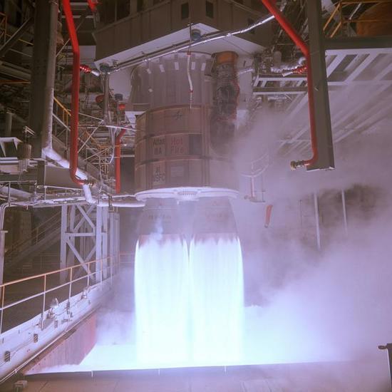 ▲RD-180火箭发动机