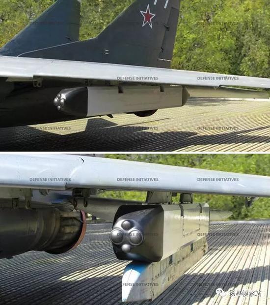 """挂载在米格-29上的""""护身符"""""""
