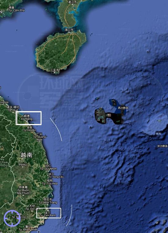美航母访越南为何选择更靠近中国的岘港