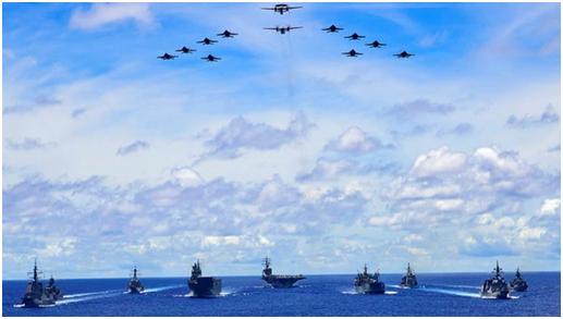 南海角逐中的澳海军:仅有3艘神盾舰很难在战场存活