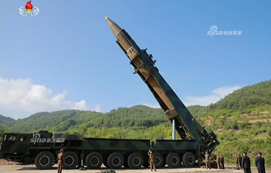 外媒称朝鲜可能已开发出可搭载在导弹上的核弹头
