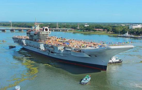 印媒:印度大力发展航母却难赶上中国 仅有地理优势
