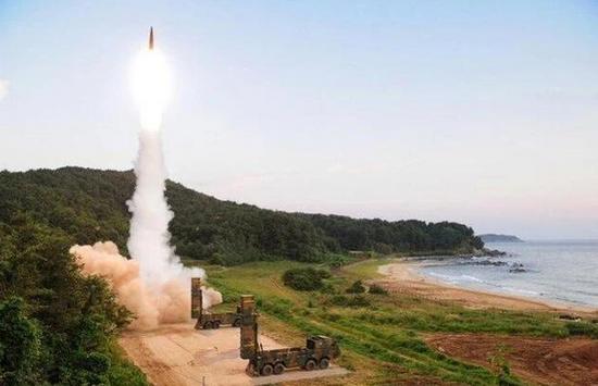 外媒:韩国再射玄武4弹道导弹 可摧毁地下指挥中心