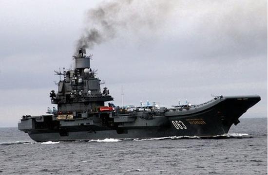俄将为库兹涅佐夫号航母更换发动机 将不再冒黑烟
