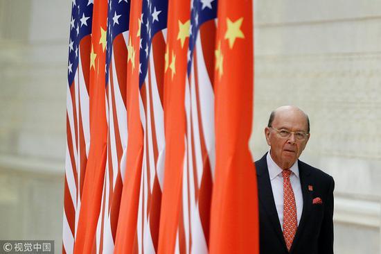 美国商务部长罗斯 图片来自视觉中国