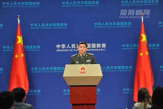 我国防部回应辽宁舰穿越台海:有足够实力捍卫主权|中国|国防部|解放军_新浪军事_新浪网