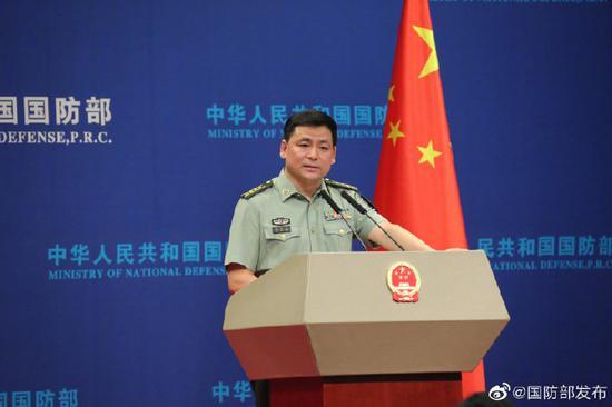 美军称希望中国阻截朝鲜违禁货船 我国防部回应