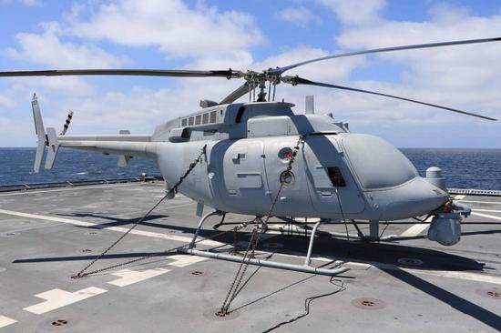 日本正考虑采购MQ8无人直升机 可检测核辐射