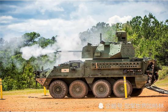 美新战车添加30毫米链式炮炮塔 火力强可压制俄同级