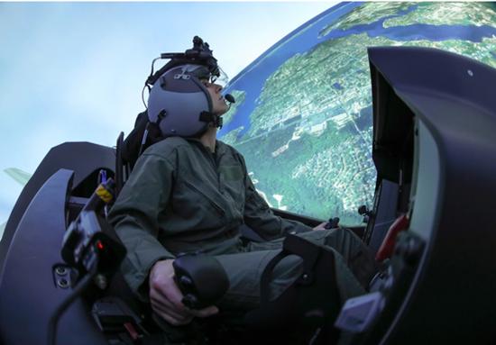 应对中俄:美军飞行员最艰难的训练飞行正在虚拟化