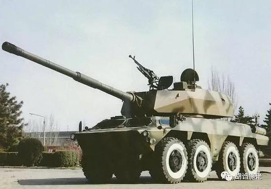 ▲ BK1990的标准像一般被认为是这个,但是其实它本来带的是105毫米炮和炮塔