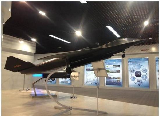 早年曝光的军机模型