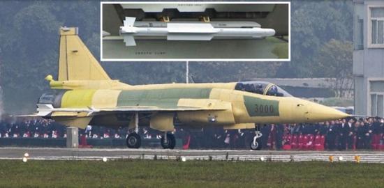 美媒:枭龙3战机挂新型导弹亮相 对印空军有明显优势