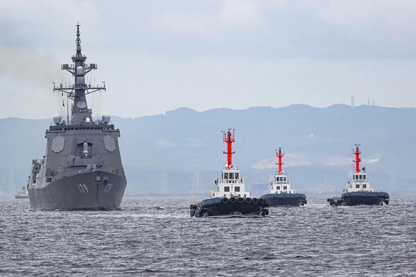 紧追我055步伐!日本海自摩耶号导弹驱逐舰完成海试