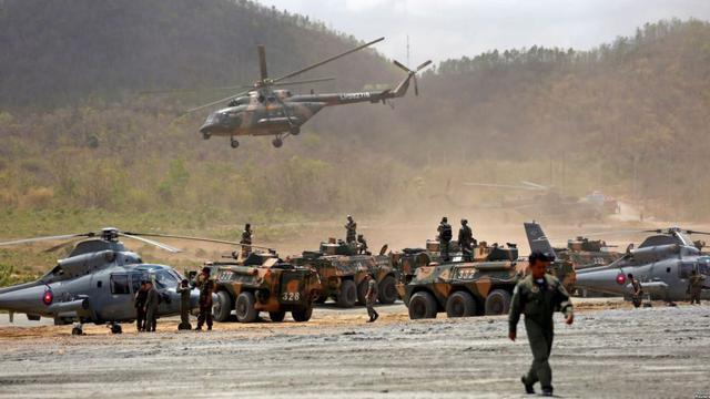 东南亚解放军!柬埔寨大批中国造武器现身中柬军演