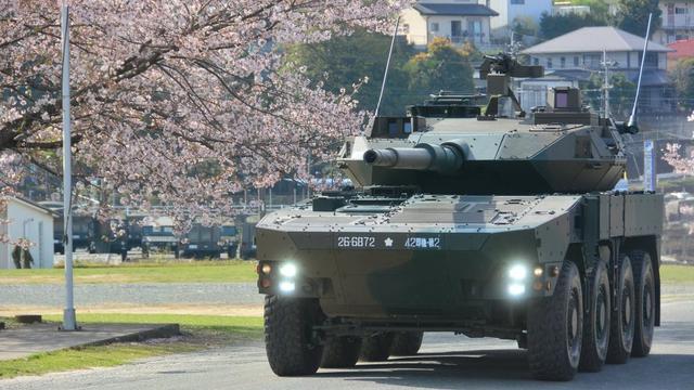 日本组建大八轮快速部队 这价足够购买一辆99A坦克
