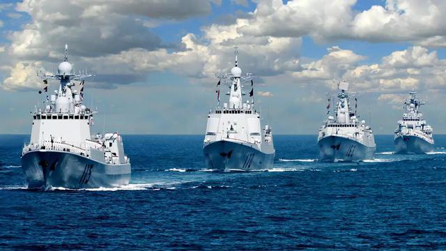 快来舔屏!中国海军南海亮剑高清美照出炉超震撼