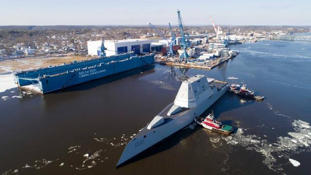 未来的劲敌!美国海军第2艘朱姆沃尔特驱逐舰服役