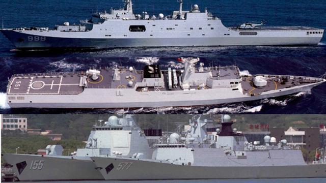你最中意哪一位?我海军071、052D、054A、056美图赏析