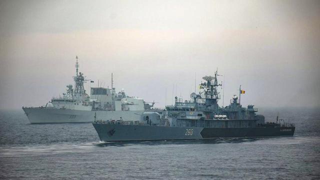 破铜烂铁吓唬毛子?罗马尼亚协海军同北约黑海演习