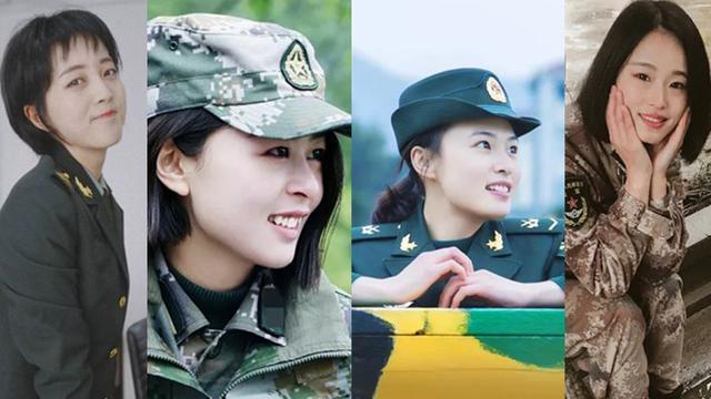 战地黄花分外香!领略女兵与军装完美契合的英姿飒爽