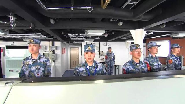 舰上内景一览无余!中国首艘国产航母海试画面曝光