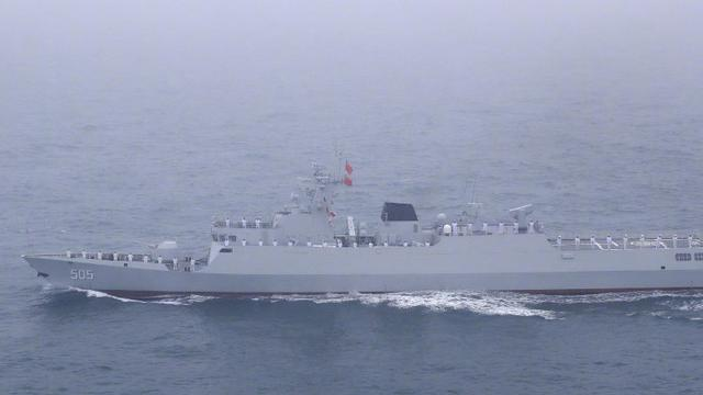 比直播看得更清楚!中国海上大阅兵现场高清图曝光
