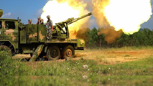 山地战火力尖兵!我陆军09式122毫米车载炮山地实射