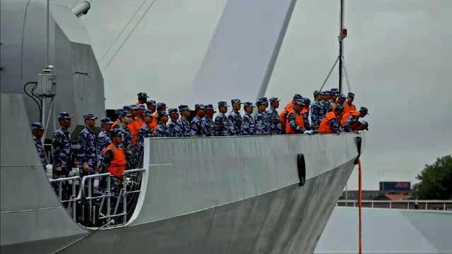 与达瓦里希会师!西安舰停靠荷兰后将赴俄参加海上阅舰