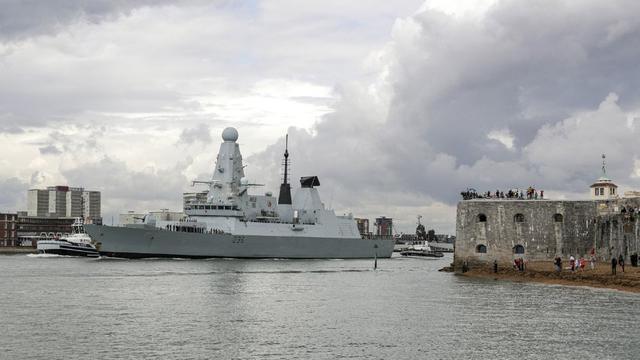 来中国周边捣乱?英国海军45型护卫舰赴亚太部署