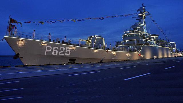 铜陵舰再获新生!中国援赠斯里兰卡053舰在斯入役