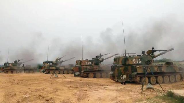 装备虽老精神好!陆军某部实战演练步坦协同势不可挡