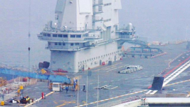 国产航母结束第八次海试返港:申博官网开户登入不了,无明显舰载机降落痕迹