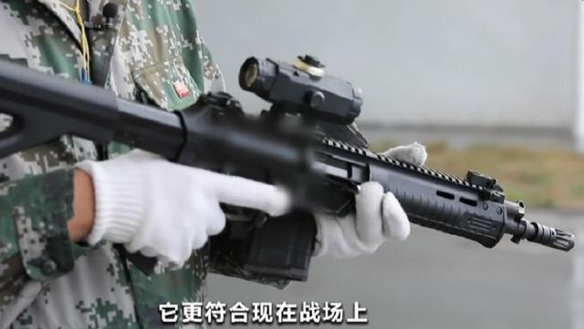准备替换95式?我国产新型突击步枪测试画面曝光