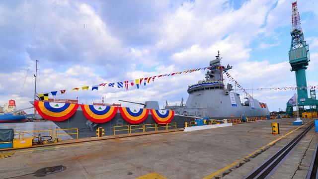 """德不配位啊!韩国新型护卫舰隆重下水取名""""首尔""""号"""