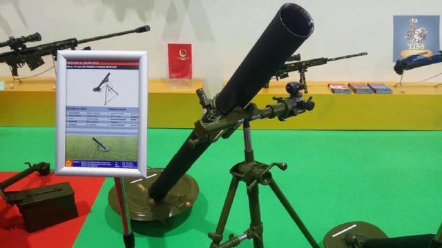 这质量真的靠谱?缅甸国产轻武器亮相泰国防务展